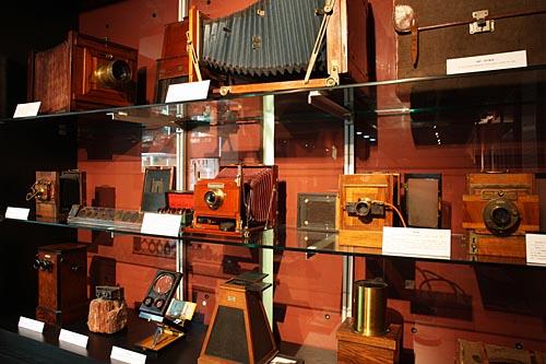 早期大型木质相机